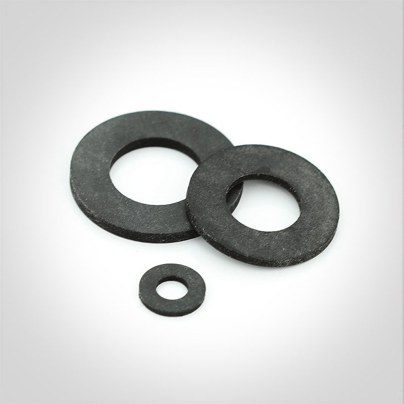 Metric Black PTFE Washers