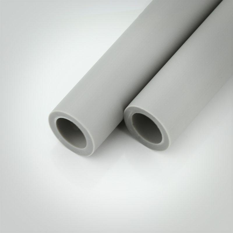 Gray Plastic Spacer Stock