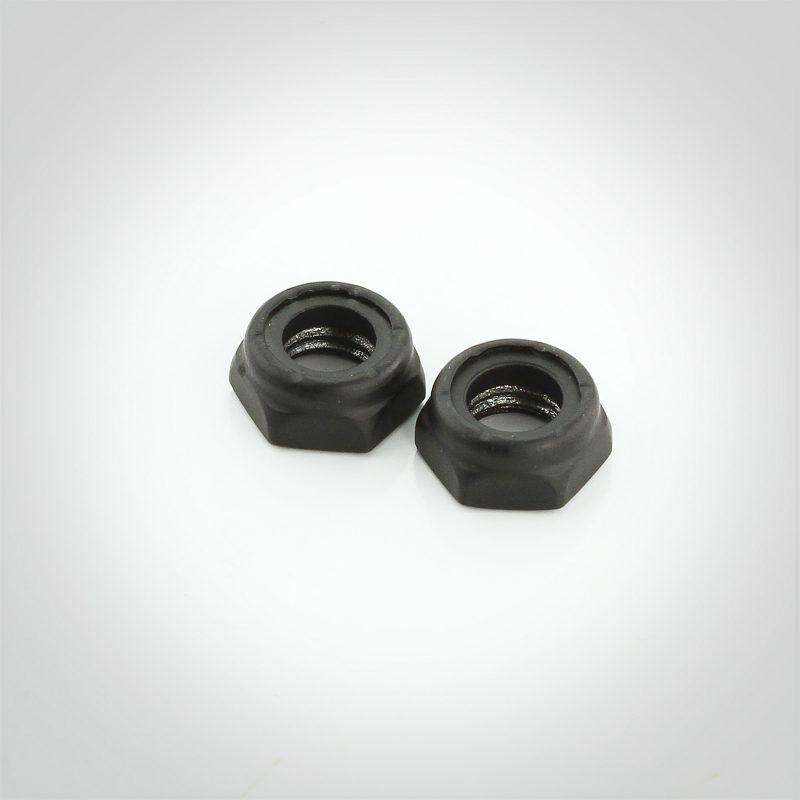 Black Luster® Steel Nylon Insert Jam Lock Nuts