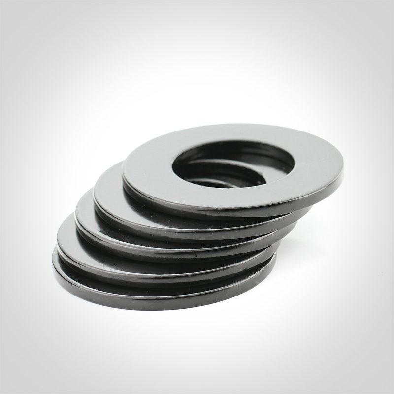 Black Luster® Steel SAE Washers